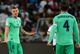 """T.Kroosas pelnė įspūdingą įvartį, """"Real"""" pateko į Ispanijos Supertaurės finalą"""