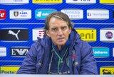 """R.Mancini: """"Pirmame kėlinyje lietuviai gynėsi labai gerai"""""""