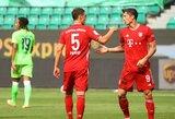 """Paskutiniame """"Bundesliga"""" čempionato ture – """"Bayern"""" triuškinama pergalė ir """"Borussia"""" nesėkmė"""