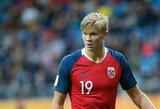 Neįtikėtinas rezultatyvumas: 18-metis norvegas U-20 pasaulio čempionate pelnė devynis įvarčius