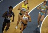2011 m. Europos uždarų patalpų lengvosios atletikos čempionato rikiuotėje E.Balčiūnaitė jau ketvirta