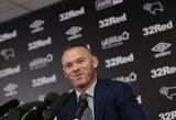 Sugrįžimui į Angliją besiruošiančio W.Rooney gyvenime – permainos: atsisakė alkoholio ir ketina gelbėti savo santuoką