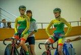 Lietuvos treko dviratininkės baigė pasaulio jaunių čempionatą