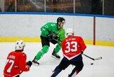 """84 smūgius atlikęs """"Kaunas Hockey"""" dar kartą įveikė lygos naujokus"""