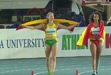U.Bačianskaitė pasiekė geriausią Lietuvos daugiakovininkių sezono rezultatą