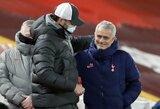 """Anglai išsijuokė iš J.Mourinho pasisakymo apie rungtynes su """"Liverpool"""""""