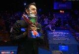 Pribloškiantį spurtą surengęs R.O'Sullivanas po 7 metų pertraukos susigrąžino pasaulio čempiono titulą
