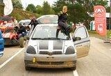"Dvylikametis ralio kroso lenktynininkas R.Gurklys sės į ""Škoda Fabia R5"""