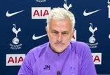 """J.Mourinho apie Čempionų lygos klubų persikėlimą į Europos lygą: """"Tai nesąžininga"""""""