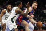 """""""Pistons"""" pakartojo ilgiausią pralaimėjimų seriją NBA atkrintamosiose"""