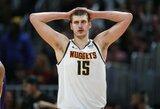 """""""Nuggets"""" treneris: """"Jokičius yra panašus į Jamesą"""""""