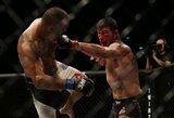 46-erių metų veteranas sumaitojo brito veidą, bet pralaimėjo paskutinę karjeros kovą dėl UFC čempiono diržo