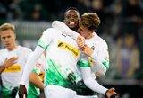 """""""Eintracht"""" įveikusi """"M.Borussia"""" Vokietijoje pakilo į pirmą vietą"""