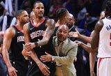 """""""Rockets"""" žaidėjai siekė išsiaiškinti santykius su B.Grifinu ir A.Riversu, prireikė policijos"""