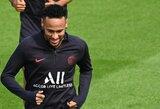 """PSG sporto direktorius Leonardo paaiškino Neymaro situaciją: """"Jis nėra nušalintas nuo komandos"""""""