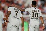 """Neymaras apie K.Mbappe: """"Man jis jau yra fenomenas"""""""