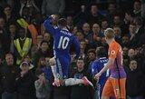 """C.Fabregas maldauja E.Hazardo nepalikti """"Chelsea"""""""