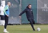"""V.Dambrauskas: """"Jei futbole nori pasiekti daug, turi daug paaukoti"""""""