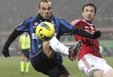 "A.Galliani teigia, kad W.Sneijderiui vietos ""Milan"" ekipoje nėra"