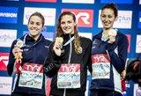 Europos plaukimo čempionate krito žemyno rekordas, o K.Hosszu iškovojo 11-ą aukso medalį