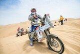 Pirmoji Dakaro dalis aplamdė B.Bardausko motociklą, bet lietuviui įspūdžių ir taip per akis