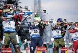 Italijos biatlonininkės dramatiškame pasaulio taurės sprinte išplėšė pergalę, Lietuvos rinktinė aplenkta visu ratu