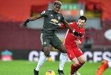 """""""Premier"""" lygoje principinis lyderių mūšis tarp """"Liverpool"""" ir """"Man Utd"""" baigėsi be įvarčių"""