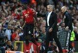 """Apie gandus ir santykius su J.Mourinho prabilęs P.Pogba: """"Su treneriu turime bendrą tikslą - laimėti"""""""