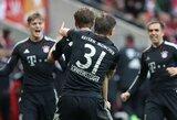 """Vokietijoje – eilinė """"Bayern"""" pergalė ir netikėtas """"Schalke"""" pralaimėjimas"""