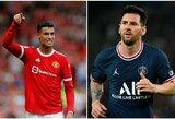 125 mln. JAV dolerių per sezoną uždirbsiantis C.Ronaldo aplenks L.Messi