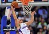 """Ch.Paulo ir B.Griffino ataka """"žemė-oras"""" – gražiausias NBA savaitės epizodas"""
