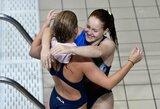 Lietuvos šuolininkės į vandenį Europos čempionate – 9-os