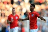 """Jaunų Anglijos talentų svarba: ar M.Rashfordas gali tapti pagrindiniu """"Manchester United"""" puolėju?"""