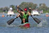 Europos baidarių ir kanojų irklavimo čempionato A finaluose plauks net penki lietuviai