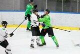 """""""Kaunas Hockey"""" dar kartą įveikė """"Hockey Punks"""" komandą"""