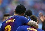 """Po fiasko Romoje atsigavusi """"Barcelona"""" namuose įveikė """"Valencia"""""""