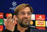 """Prieš akistatą su """"Chelsea"""" J.Kloppas kratosi bet kokių palyginimų su 2014-ųjų fiasko ir lemtingu S.Gerrardo paslydimu"""