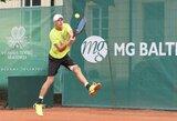 L.Mugevičius Kazachstane įveikė vienetų varžybų kvalifikaciją ir pergalingai startavo dvejetų turnyre