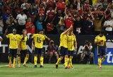 """Tarptautinė Čempionų taurė: """"Arsenal"""" rungtynių pabaigoje išplėšė pergalę prieš """"Bayern"""""""