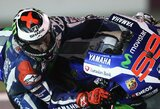 """Pirmąsias """"MotoGP"""" sezono lenktynes iš """"pole"""" pozicijos pradės praėjusio sezono čempionas"""