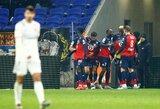 "Prancūzijos pirmenybėse – ""Lille"" kirtis ""Lyon"" ekipai"
