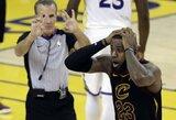 NBA teisėjai pripažino vieną iš savo klaidų