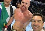 """""""UFC 240"""" turnyre turėjusio pasirodyti brazilo mėginyje rasta dopingo"""