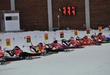 Asmeninės varžybos Lietuvos moterų biatlono rinktinės narėms susiklostė nesėkmingai