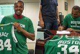 """P.Pierce'as karjerą baigs būdamas """"Celtics"""" nariu"""