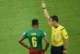 Kamerūnas pradėjo tyrimą dėl galimai papirktų rinktinės rungtynių pasaulio čempionate