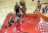 """""""Rockets"""" išvargo pergalę prieš """"Suns"""", J.Hardenas įmetė 41 tašką"""