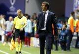 """D.Carvajalis užstojo atleistą J.Lopetegui: """"Jis yra geriausias treneris, su kuriuo man tekę dirbti"""""""
