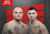 UFC: plėšiką nugalėjęs amerikietis bandys palaužti ir austrą