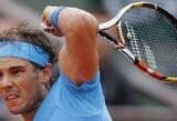 """R.Nadalis jau ketvirtąjį kartą laimėjo prieš savo oponentą N.Almagro """"Roland Garros"""" turnyre"""